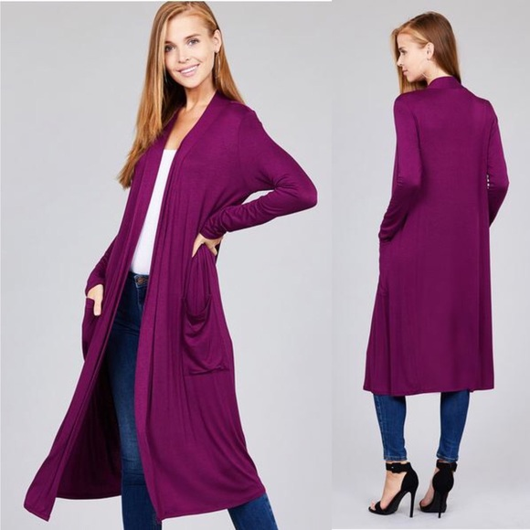 de9ddafeb89 Super Soft Midi Cardigan Duster